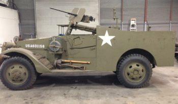 WWII M3-A1 Scout Car