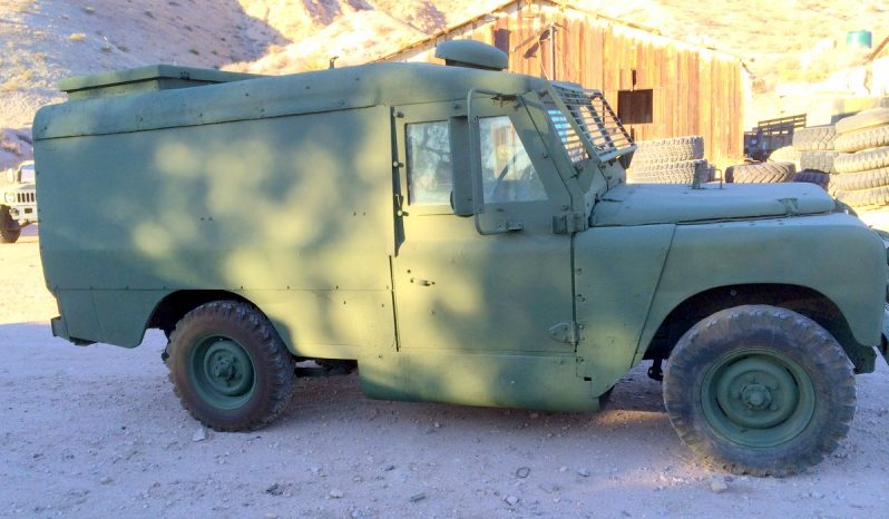Land Rover Piglet Military Armored Car full
