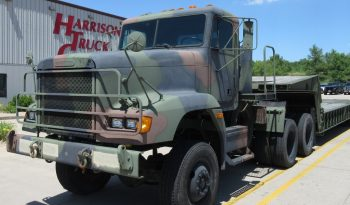 Freightliner M916A2 6×6 Tractor w/M870A1 40 Ton Low Bed Trailer