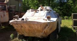 Russian BRDM-2 Amphibious Armored Scout Ca