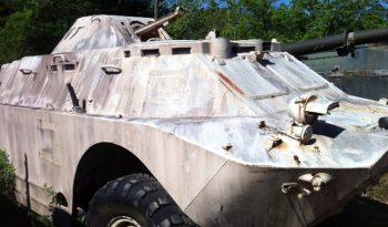 Russian BRDM-2 Amphibious Armored Scout Car full