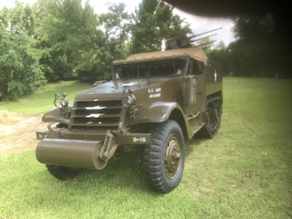 M16 Half Track with Quad Mount full
