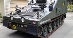 British CVRT Sultan Armored Command Vehicle