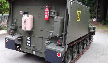 British CVRT Sultan Armored Command Vehicle full