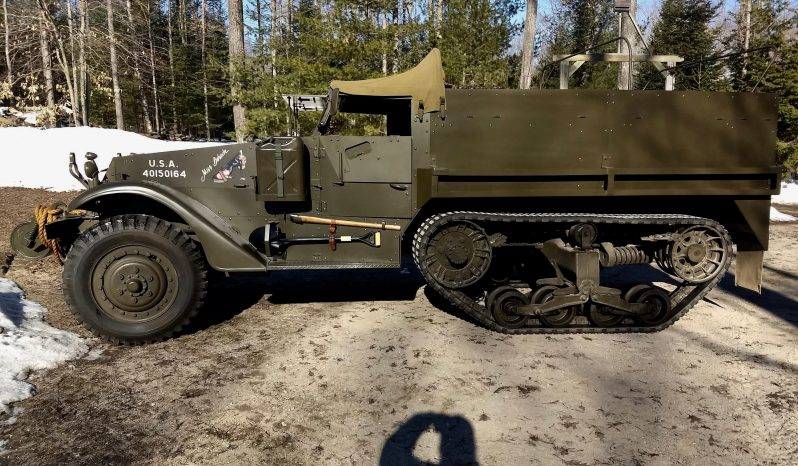 1943 M3 Halftrack full